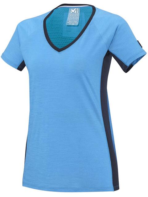 Millet LD Trilogy Wool TS - Camiseta manga corta Mujer - azul